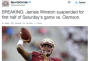 [NCAAF] Jameis Winston Being Suspended For The First Half Of The Clemson Game For Saying Curse Words Is The Most Ridiculous Thing I've EverHeard