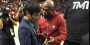 Mayweather And Pacquiao Were Both Courtside In Miami And Exchanged Numbers