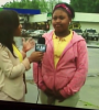 Chick Pisses Her Pants During A Live TVInterview