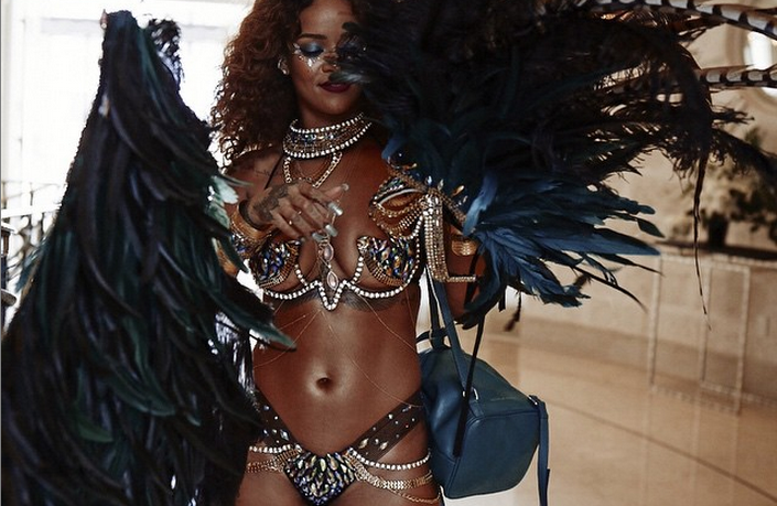 Sorry, that Rihanna gets naked all