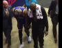 Durant Leaves Game Holding Left Knee After Pachulia Falls Into KD'sLeg