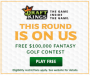 Here's A FREE Entry To DraftKings $100K Masters Contest
